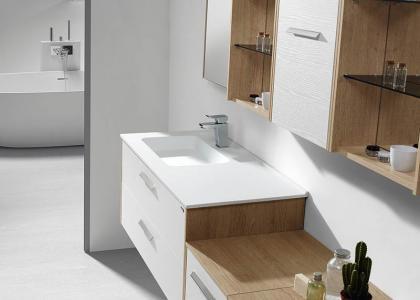 Basin fine nature white