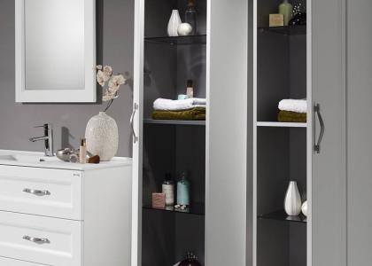 Talll slide cabinet