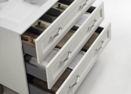 Metal drawer soft close hardware